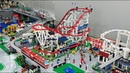 Building and Placing LEGO Roller Coaster