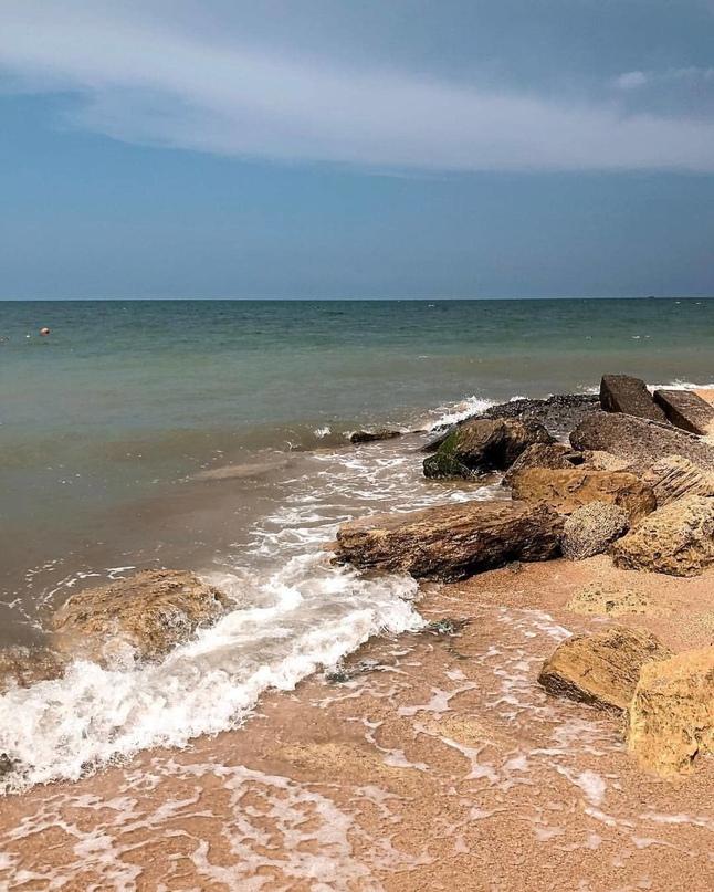 Станица Голубицкая — край отличных пляжей на берегу Азовского моря