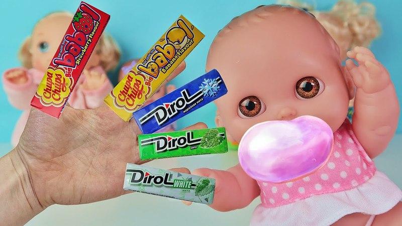 Куклы Пупсики Поют песенку про пальчики. Иришка, Каришка и Маришка на канале Зырики ТВ для малышей.