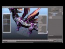 Art of Dragon (IKinema Action Tutorials - rigging a dragon - spine neck and tails)