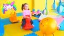 Веселимся на Супер игровой Детской Площадке 👍 под Джони Джони ес Папа видео для детей