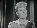 Patti Page, Jo Stafford--Accentuate the Positive, Big Record, 1958 TV Show