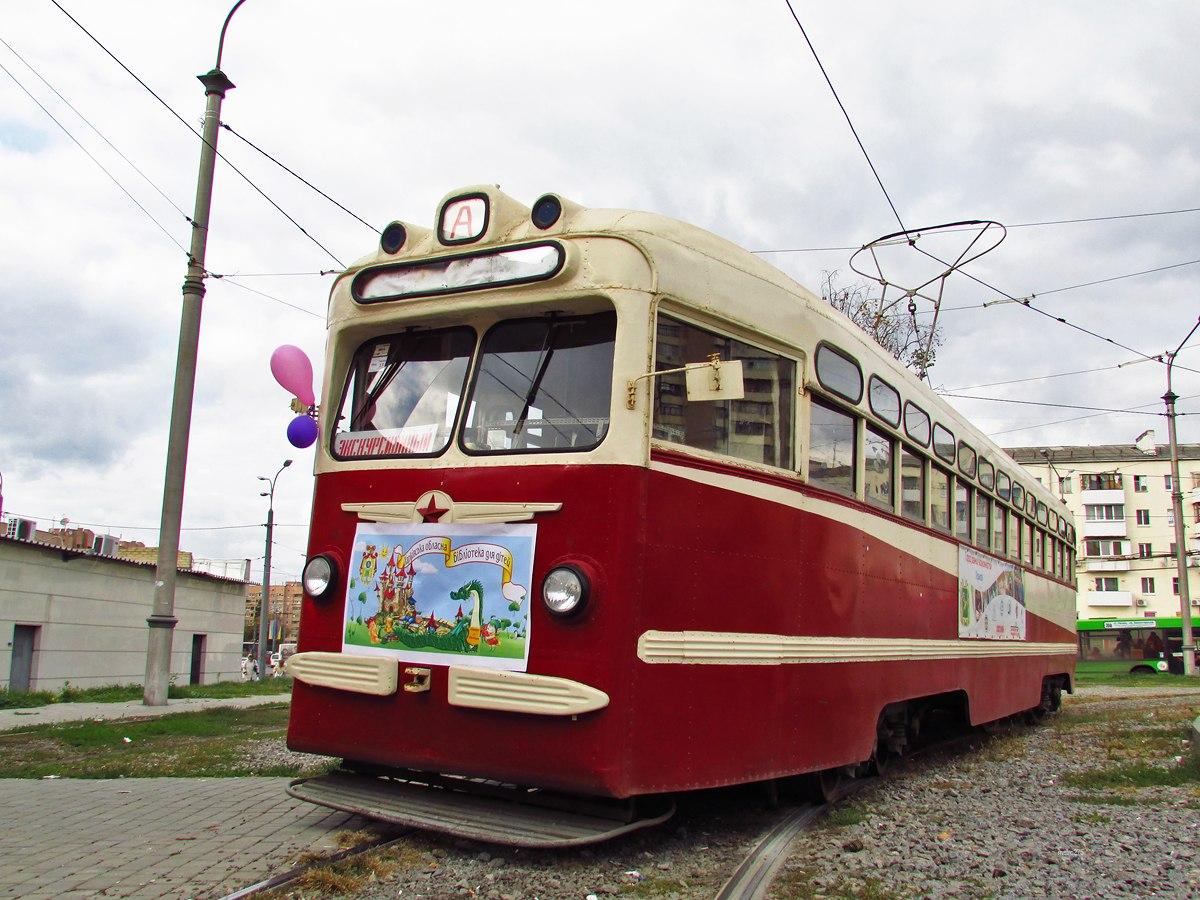 Трамвай МТВ-82 №055. Автор - Анатолий Афейчук