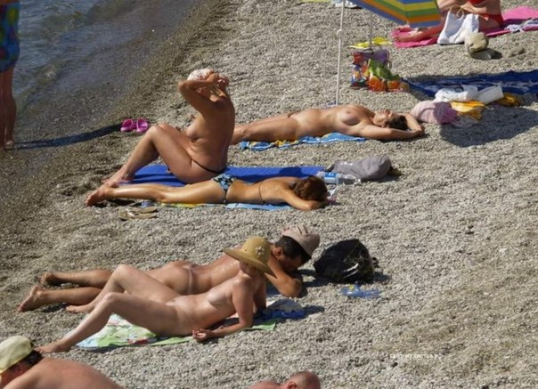 Пляж фото нудист