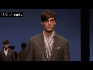 Canali Men Winter 2015 FULL SHOW | Ludovico Einaudi | Milan Men's Fashion Week | FashionTV