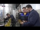 Врио Главы ДНР Денис Пушилин ознакомился с работой нового маслозавода в Старобешевском районе