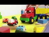 Мультики про машинки и паровозики Грузовичок и кубики. Развивающие мультики для детей. Машинки! кукольный театр
