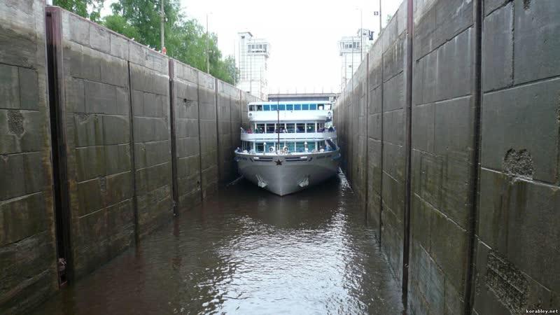 5 шлюзов Мазурского канала