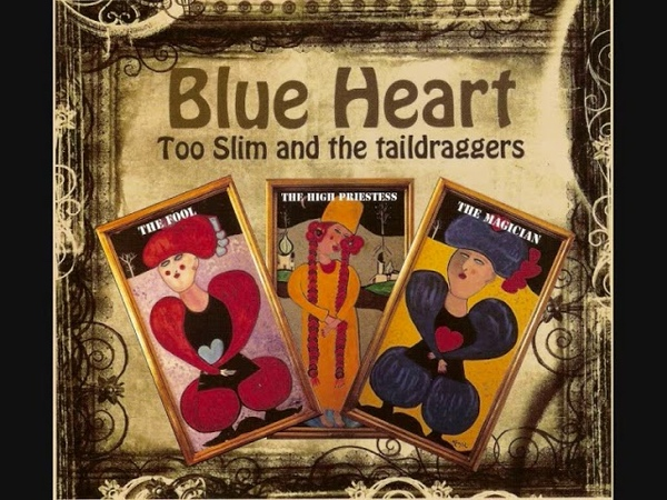 Too Slim The Taildraggers ~ Shape of Blues to Come