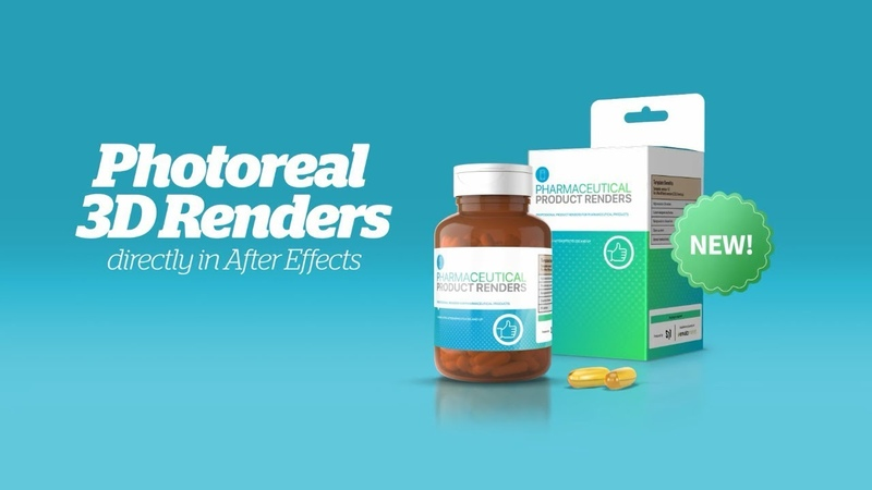 Supplement Pharmaceutical Product Video Ads Template - After Effects Template