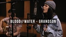 BLOOD WATER - GRANDSON Cover