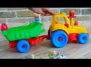 Kinderfilm - Brettspiel - Puzzle - vehicles for kids train, plane, ambulance, bus, ship