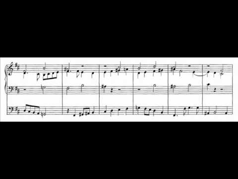 J.S. Bach - BWV 714 - Ach Gott und Herr