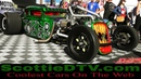 Vegas Rat Rods Joker Mobile Twin Turbo Supercharged Big Block Hot Rod 2018 SEMA Show