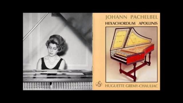 J-Pachelbel Hexacordum Apollnis Huguette Gremy-Chauliac