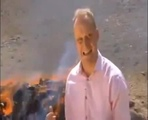 LEGALLY HIGH BBC News Reporter Inhales Burning Drugs And Can't Finish Report