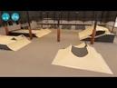 Indoor bmx/skate park. Sketchup/Lumion/After Effects