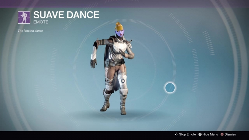 Destiny 20180129 HUNTER vers40 SUAVE DANCE POVTOR