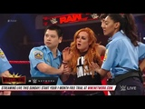 WWE Raw Show Rousey, Lynch and Flair are arrested Raw, 4 1 19