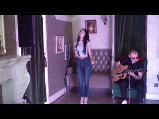 Imany - cover acoustic ( Софья Андрюсенко и Алексей Доля)