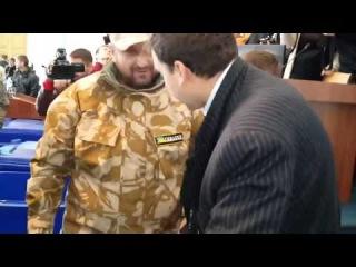 Cherkasy Lustration deputies in the trash news from Ukraine ATO 25.09 2014