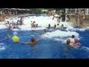 Пенная вечеринка в бассейне Larissa Green Hill Beach Турция
