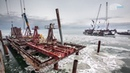 Керченский мост ледоход 2017