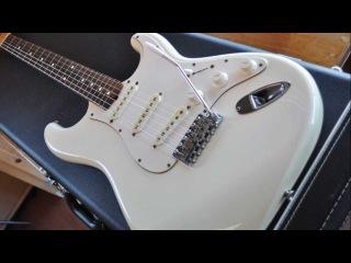 Fender JV (ST62-65) 1982 Vintage White - Fender Japan Vintage Stratocaster (Full...