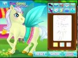 Игры Маленькая Пони Лечим и Одеваем