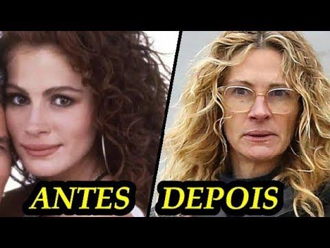 BELAS ATRIZES DE HOLLYWOOD - ANTES E DEPOIS PARTE 2 - ANTES Y DESPUÉS BELLAS ACTRIZES AMERICANAS