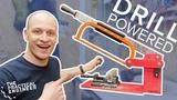 Cut metal easily! - DIY Power hacksaw