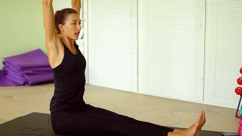 Как выровнять и укрепить спину - 6 упражнений для дома