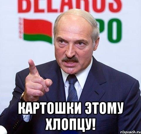 Картошки этому хлопцу Лукашенко Лука