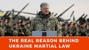 The real reason behind Ukraines sudden martial law