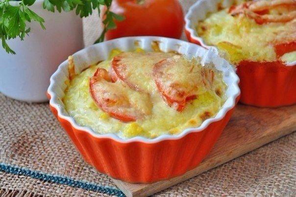 Запеканка с цветной капустой для завтрака Ингредиенты: Капуста цветная