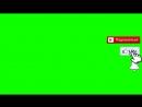 Футаж - Подписка и Лайк - Колокольчик You Tube - Green Screen - Скачать Футаж подписка.mp4