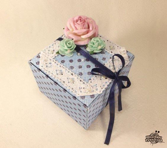 Подарочная коробочка своими руками (6 фото) - картинка