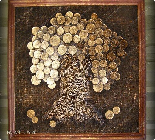 Поделка денежное дерево