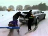 Снежный Армагеддон в 22 штатах США. 2014.02.13