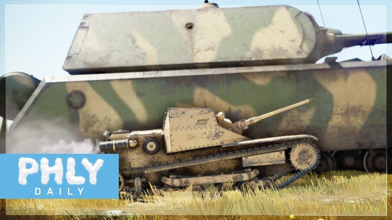 100% The Smallest TANK IN GAME | 3.2 TONS Meatball Launcher (War Thunder 1.85)