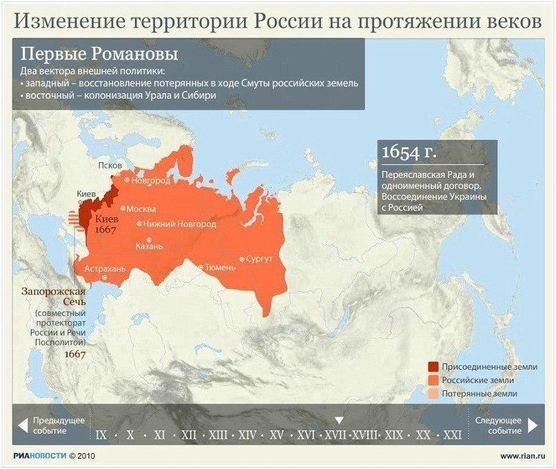 Изменение территории России на протяжении веков 8jAndRcA3QI
