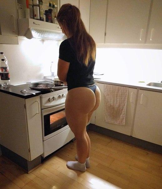 cocinando en tanga