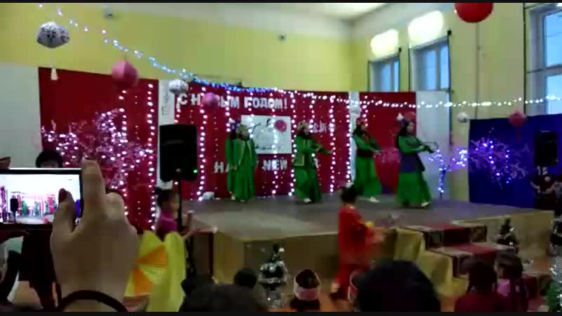 кыргызский танец 8кл