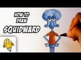 How to draw Squidward Tentacles [Spongebob Squarepants] drawing tutorial