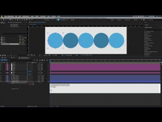 Dynamically Resizing Line of Shapes - Adobe After Effects tutorial
