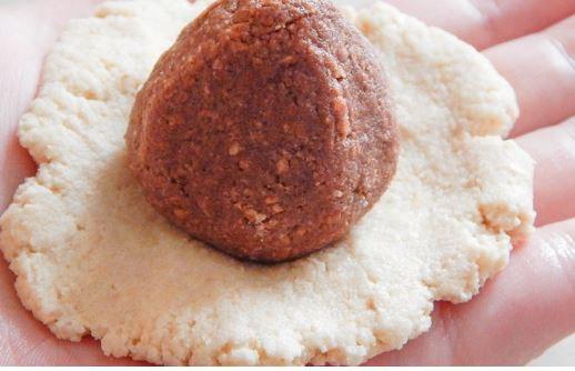 Вафельные клубнички Рецепт этого оригинального десерта достался