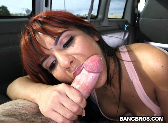 Juicy Latina Ass Fucked On The BangBus!