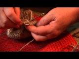 Как вязать пятку носка спицами - Урок 4 для начинающих