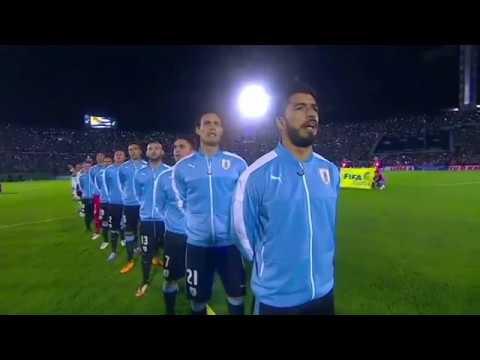 Himnos de Uruguay y Argentina Eliminatorias