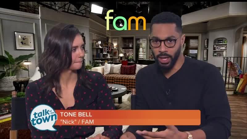 Meet FAM Co-Stars Nina Dobrev Tone Bell